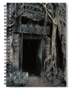 Ancient Angkor Cambodia Spiral Notebook