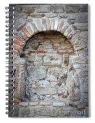 Ancient Bricked Up Window  Spiral Notebook