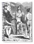 Ancient Briton, Caledonian And Irish Spiral Notebook