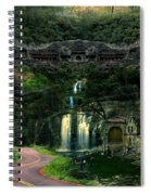 Ancient Caves And Nature Spiral Notebook