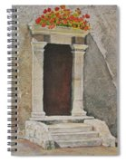 Ancient  Doorway  Spiral Notebook