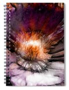 Ancient Flower 1 Spiral Notebook