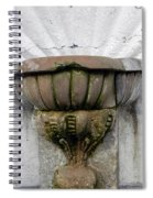 Ancient Fountain Spiral Notebook