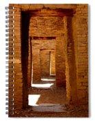 Ancient Galleries Spiral Notebook