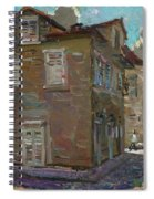Ancient House In Perast Spiral Notebook