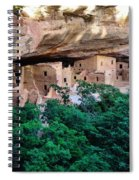 Ancient Houses Spiral Notebook