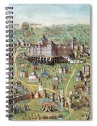 Ancient Jerusalem Spiral Notebook
