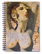 Ancient Middle East Map And Aphrodite Spiral Notebook