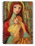 Ancient Mother And Son Spiral Notebook