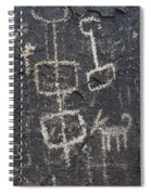 Ancient Rock Memo Spiral Notebook