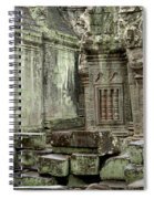 Ancient Ruins Cambodia Spiral Notebook