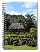 Ancient Taro Gardens In Kauai Spiral Notebook