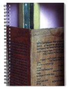Ancient Torah Scrolls From Yemen  Spiral Notebook