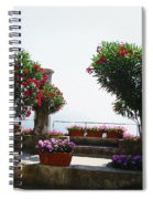 Ancient Town Of Ravello Italy Spiral Notebook