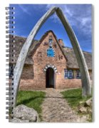 Ancient Whale's Jawbones Gate Spiral Notebook