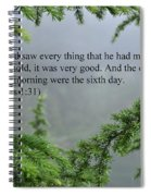 And God Saw Spiral Notebook