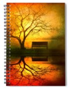 And I Will Wait For You Until The Sun Goes Down Spiral Notebook