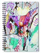 And The Man Looked In Wonderment Spiral Notebook