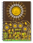 And The Sun Started To Shine Pop Art Spiral Notebook
