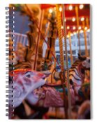 And The Zebra Is In The Lead Spiral Notebook
