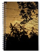 And Then The Night Comes Spiral Notebook