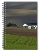 Andalusian Farmland  Spiral Notebook