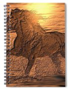 Andalusian Sunset Spiral Notebook