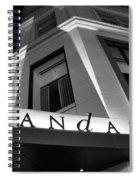 Andaz Hotel On 5th Avenue Spiral Notebook