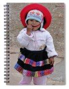Andean Chiquita Spiral Notebook