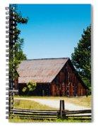 Anderson Valley Barn Spiral Notebook