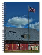 Andersons Dock Door County Wi Spiral Notebook