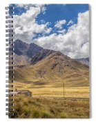 Andes Mountains - Peru Spiral Notebook