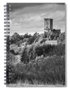 Andrade's Castle Galicia Spain Spiral Notebook
