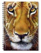 Andre Lion Spiral Notebook