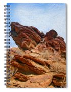 Andreas Canyon Spiral Notebook