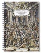 Andreas Vesalius Teaching Spiral Notebook