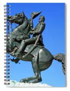 Andrew Jackson Raising His Hat Spiral Notebook