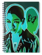 Android 1 In Greens Spiral Notebook