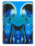 Android Twins Spiral Notebook