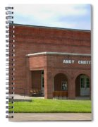 Andy Griffith Playhouse Nc Spiral Notebook