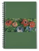 Anemonies Spiral Notebook