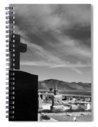 Angel And Cross Spiral Notebook