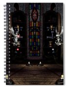 Angel And Devil Spiral Notebook