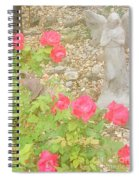Angel And Elephant Spiral Notebook