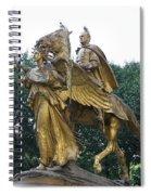 Angel And Tecumseh Sherman Spiral Notebook