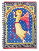 Angel Blowing Trumper Spiral Notebook