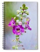 Angel Face Flower - Summer Snapdragon Spiral Notebook