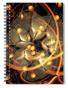 Angel Flower Spiral Notebook