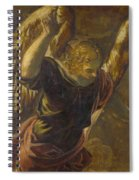 Angel From The Annunciation To The Virgin Spiral Notebook