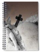 Angel Heart Spiral Notebook
